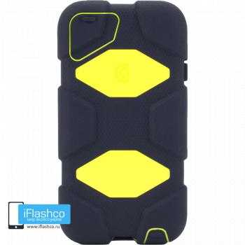 Чехол Griffin Survivor для iPod touch 5 / 6 черный с желтым