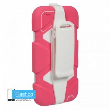 Чехол Griffin Survivor для iPod touch 5 / 6 розовый с белым
