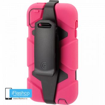 Чехол Griffin Survivor для iPod touch 5 / 6 розовый с черным