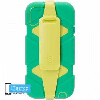 Чехол Griffin Survivor для iPod touch 5 / 6 зеленый с желтым