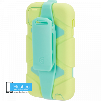 Чехол Griffin Survivor для iPod touch 5 / 6 желтый с зеленым