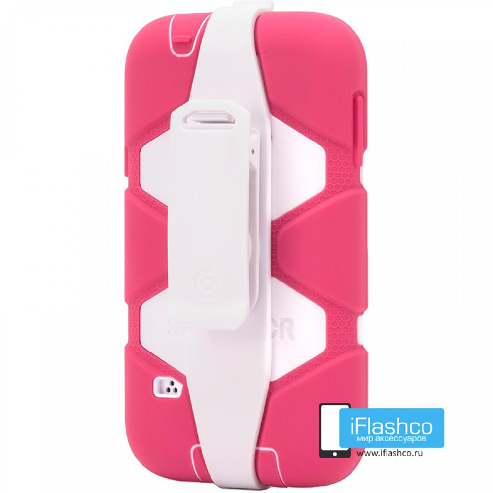 online retailer 78f2e 126dd Чехол Griffin Survivor для Samsung Galaxy S5 розовый с белым