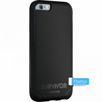 Чехол Griffin Survivor Strong для iPhone 6 черный