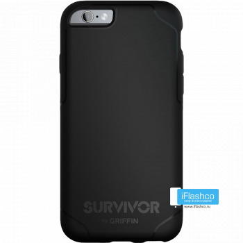 Чехол Griffin Survivor Strong для iPhone 6 Plus / 6s Plus черный