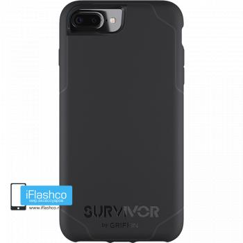 Чехол Griffin Survivor Strong для iPhone 7 Plus / 8 Plus черный