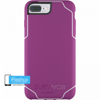 Чехол Griffin Survivor Strong для iPhone 7 Plus / 8 Plus фиолетовый