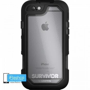 Чехол Griffin Survivor Summit (Extreme) для iPhone 6 Plus / 6s Plus черный прозрачный