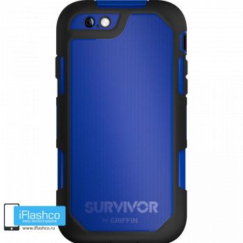 Чехол Griffin Survivor Summit (Extreme) для iPhone 6 Plus / 6s Plus черный с синим
