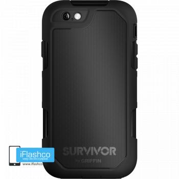 Чехол Griffin Survivor Summit (Extreme) для iPhone 6 Plus / 6s Plus черный