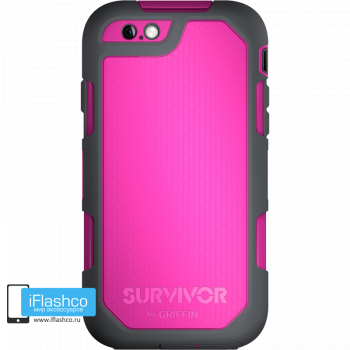 Чехол Griffin Survivor Summit (Extreme) для iPhone 6 Plus / 6s Plus розовый