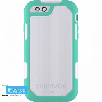 Чехол Griffin Survivor Summit (Extreme) для iPhone 6 Plus / 6s Plus зеленый