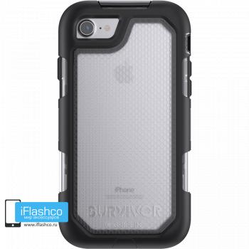 Чехол Griffin Survivor Summit (Extreme) для iPhone 7/8/SE черный прозрачный