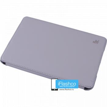 Чехол Jisoncase PU для iPad mini 1 / 2 / 3 серый