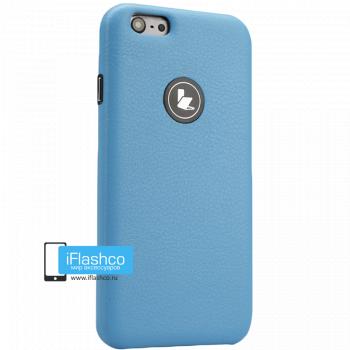 Чехол Jisoncase Slim Fit для iPhone 6 голубой