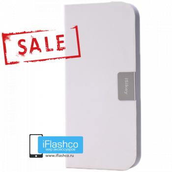Чехол-книжка iSikey для iPhone 5 / 5S / SE белая