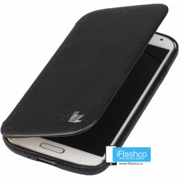 Чехол-книжка Jisoncase Fashion Folio Case для Samsung Galaxy S4 черная