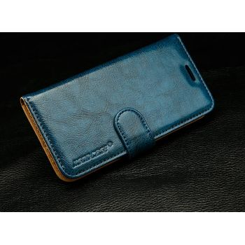 Чехол-книжка Jisoncase Fashion Folio Case для Samsung Galaxy S7 Edge синий