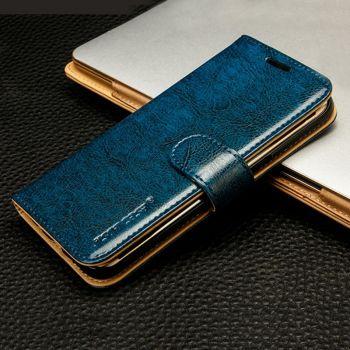 Чехол-книжка Jisoncase Fashion Folio Case для Samsung Galaxy S7 синий