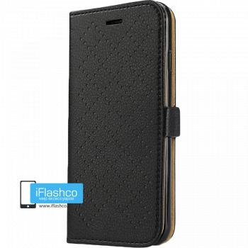 Чехол-книжка Jisoncase Fashion Wallet для iPhone 6 черная