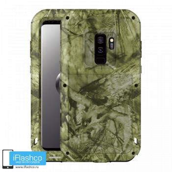 Чехол Love Mei Camo Series Jungle для Samsung Galaxy S9
