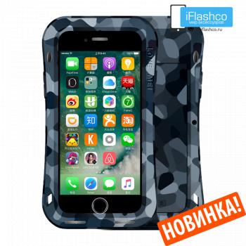 Чехол Love Mei Camo Series Small Waist City для iPhone 7 Plus / 8 Plus