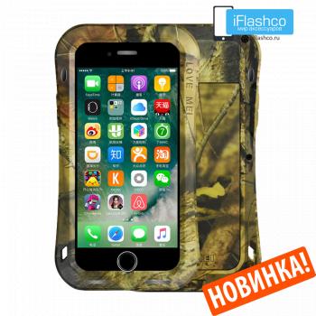 Чехол Love Mei Camo Series Small Waist Jungle для iPhone 7 Plus / 8 Plus