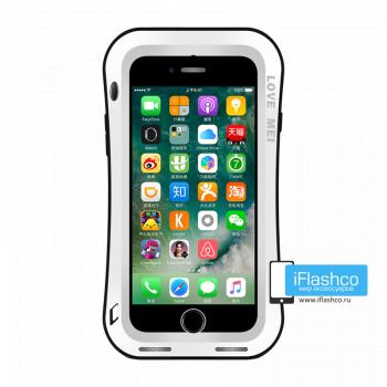 Чехол Love Mei Deff Cleave для iPhone 7/8/SE белый