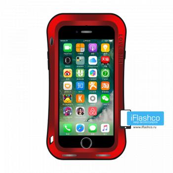 Чехол Love Mei Deff Cleave для iPhone 7/8/SE красный