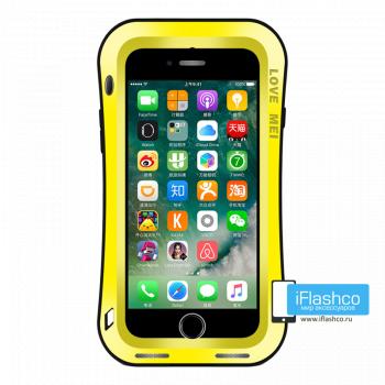 Чехол Love Mei Deff Cleave для iPhone 7/8/SE желтый