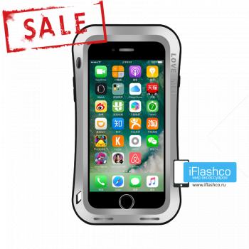 Чехол Love Mei Deff Cleave для iPhone 7 Plus / 8 Plus серый