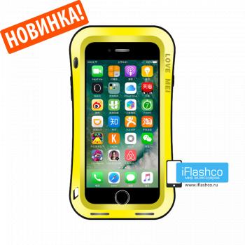 Чехол Love Mei Deff Cleave для iPhone 7 Plus / 8 Plus желтый