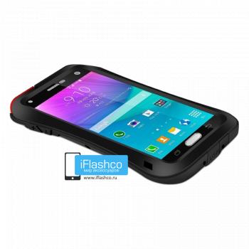 Чехол Love Mei Powerful Deff Cleave для Samsung Galaxy Note 4 Black черный