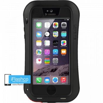 Чехол Love Mei Powerful для iPhone 5 / 5S / SE черный