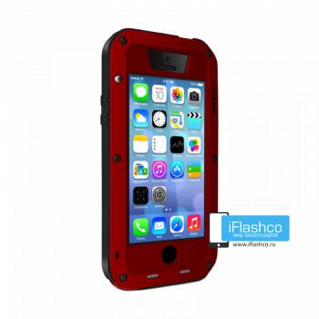 Чехол Love Mei Powerful для iPhone 5c красный