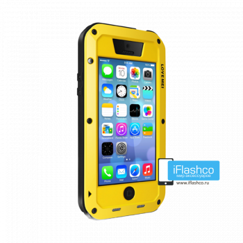 Чехол Love Mei Powerful для iPhone 5c желтый