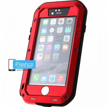 Чехол Love Mei Powerful для iPhone 6 / 6s красный