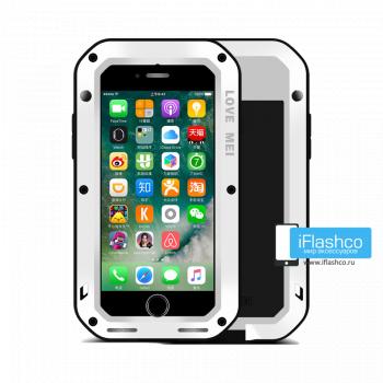 Чехол Love Mei Powerful для iPhone 7/8/SE белый