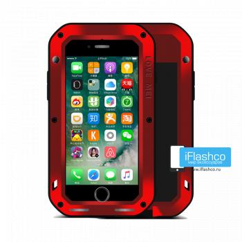 Чехол Love Mei Powerful для iPhone 7/8/SE красный