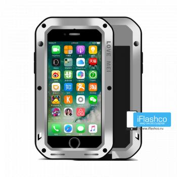 Чехол Love Mei Powerful для iPhone 7/8/SE серый