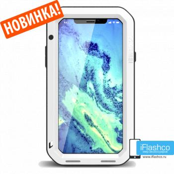 Чехол Love Mei Powerful для iPhone X/Xs белый