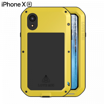 Чехол Love Mei Powerful для iPhone XR Yellow