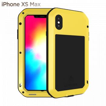 Чехол Love Mei Powerful для iPhone Xs Max Yellow