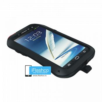 Чехол Love Mei Powerful для Samsung Galaxy Note 2 Black черный