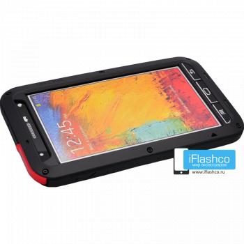 Чехол Love Mei Powerful для Samsung Galaxy Note 3 Black черный