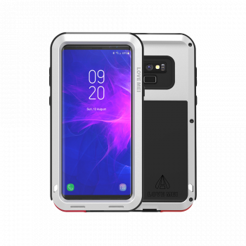 Чехол Love Mei Powerful для Samsung Galaxy Note 9 Silver
