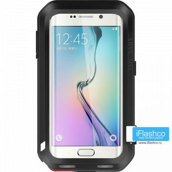 Чехол Love Mei Powerful для Samsung Galaxy S6 Edge+ Black черный