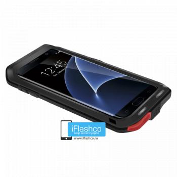 Чехол Love Mei Powerful для Samsung Galaxy S7 Edge Black черный