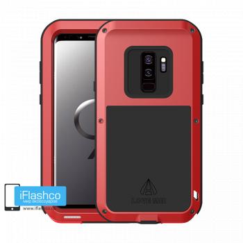 Чехол Love Mei Powerful для Samsung Galaxy S9 Red красный