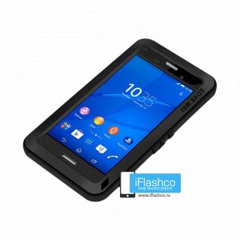 Чехол Love Mei Powerful для Sony Experia Z3 Compact черный
