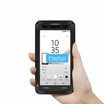 Чехол Love Mei Powerful для Sony Experia Z5 Compact черный